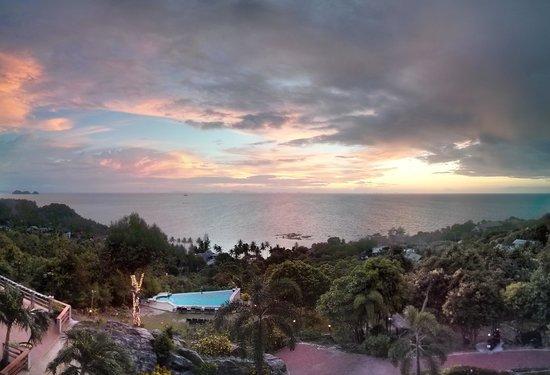 Sunset Hill Resort: panoramic