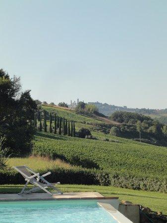 Poderi Arcangelo Agriturismo Farmhouse : The view