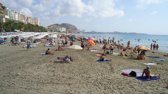 Melia Alicante: пляж Постигет
