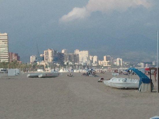 Melia Alicante: пляж Сан-Хуан