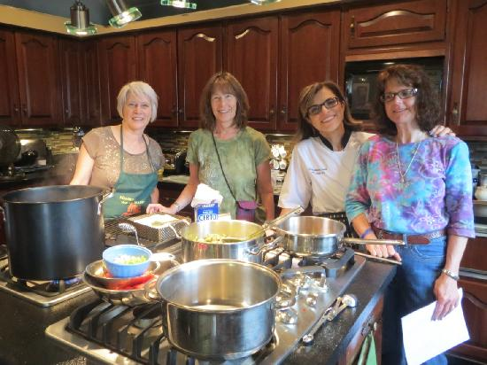 The Ambrosia Inn: Jam making class is fun with good friends