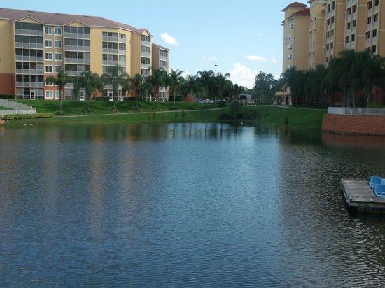 Westgate Vacation Villas Resort & Spa: Lake view.