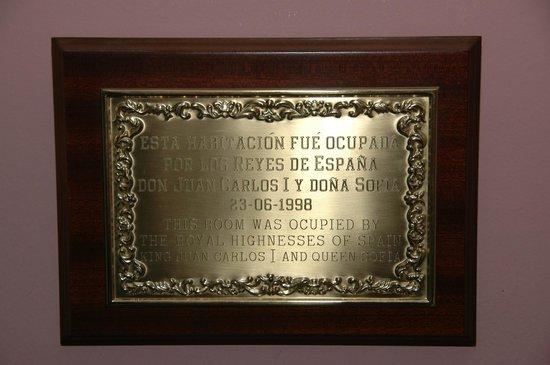 Balcon de Competa Hotel: 1998, hotel bezocht door King Juan Carlos en Queen Sofia