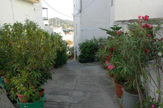 Balcon de Competa Hotel: Smalle straatjes in het centrum