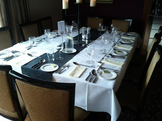 Moycarn Lodge : Private Dining