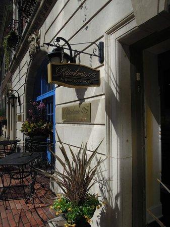 Rittenhouse 1715, A Boutique Hotel: Hotel Entrance