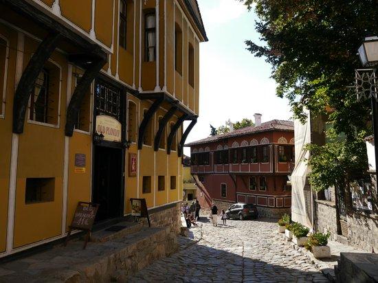 Hostel Old Plovdiv: front side