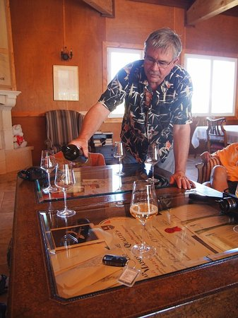 O'Vineyards Bed & Breakfast - Carcassonne : Winemaker Joe O'Connell