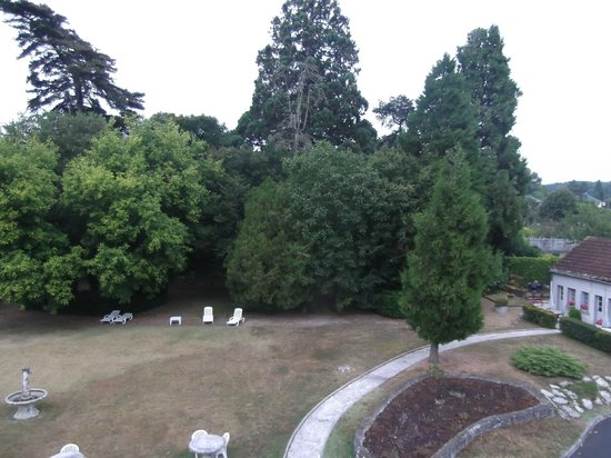 Hostellerie de la Renaudiere : from our room, over the back garden