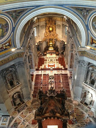 Cupola di San Pietro: Vista San Pietro