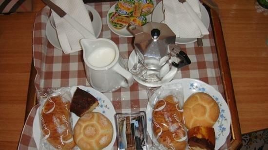 Stella Maris: La nostra colazione in camera