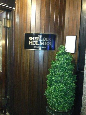 Sherlock Holmes: SH entrance