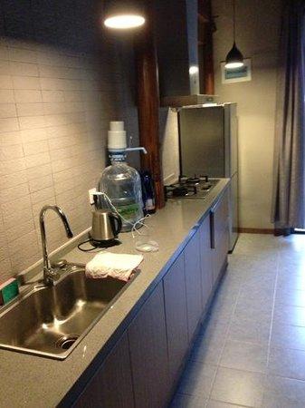 Moganshan Shambhala Residential Retreat: kitchen