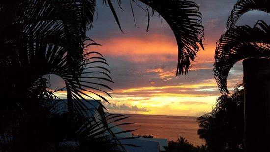 Bleu des Iles : couché de soleil