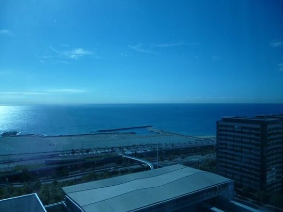AC Hotel Barcelona Forum by Marriott : View from the Hotel window