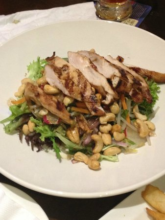 The Sherlock Holmes: Crunchy Chicken Salad