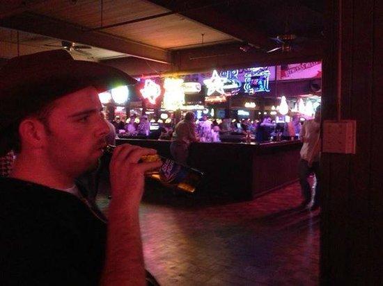 Billy Bob's Texas: My son Dan looking like a real Texan