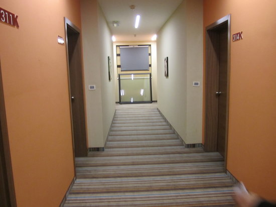 Hotel Kras: corridoio