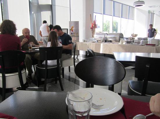 Hotel Kras: zona colazione