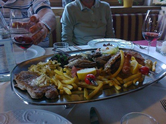 Hotel Falzeben: grigliata