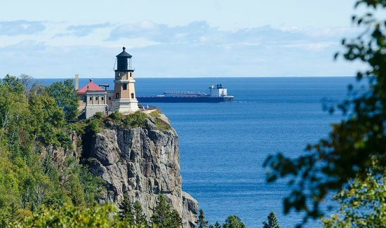 AmericInn Hotel & Suites Duluth South — Black Woods Convention Center: Split Rock Lighthouse