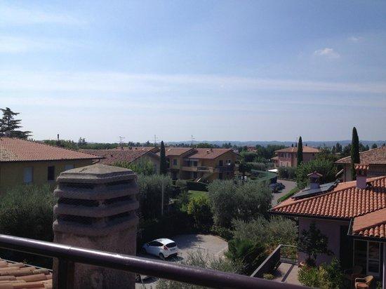 Hotel Villa Pagoda: Utsikt fra terrassen