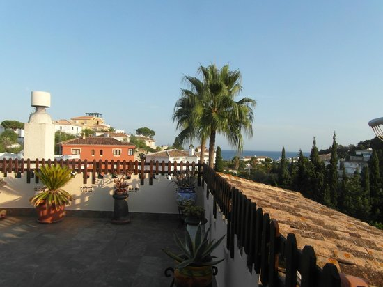 L'escala Hotel: View from rooftop terrace