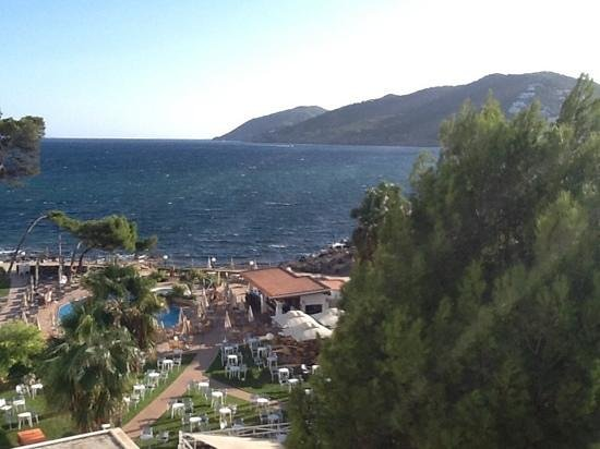 Catalonia Ses Estaques: view towards the sea.