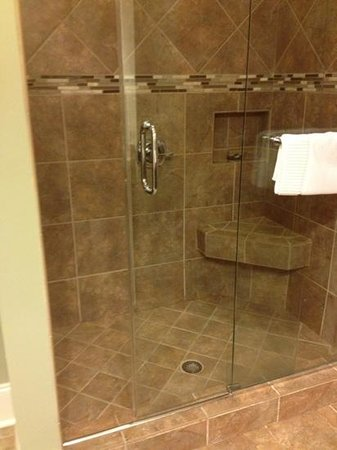 Bleckley Inn: nice shower room 2