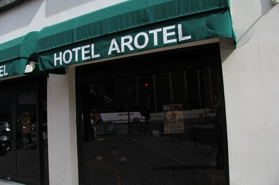 Hotel Arotel : Фасад