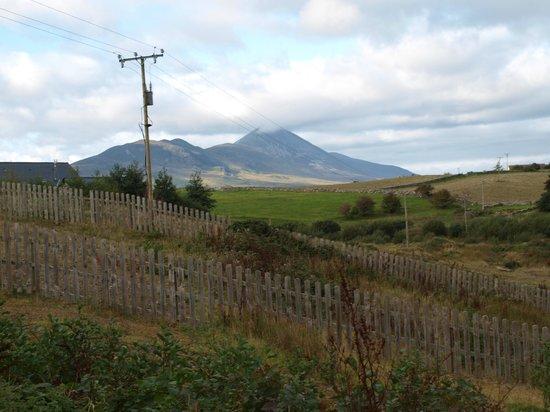 Lurgan House B&B : view from backyard- Croagh Patrick