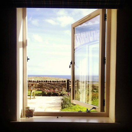 Scalby Lodge: woke up to this every morning...