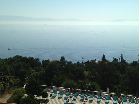 Brentanos Apartments -A View of Paradise: Beautiful view from our room