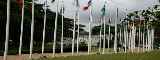 United Nations Visitor's Service: Flags of the UN Member States @UNON