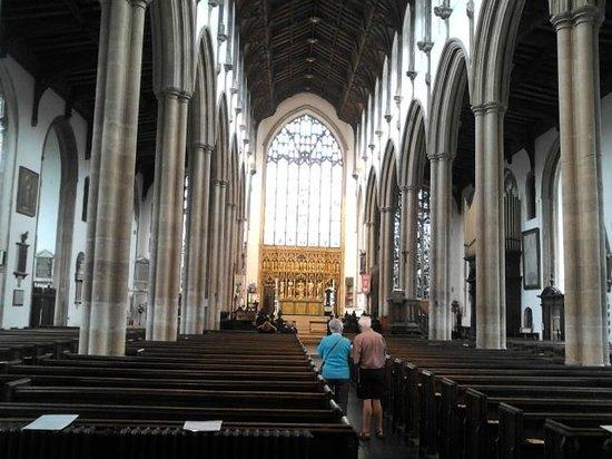 St Peter Mancroft: Chancel