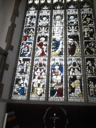 St Peter Mancroft: Stained Glass Eastern Window