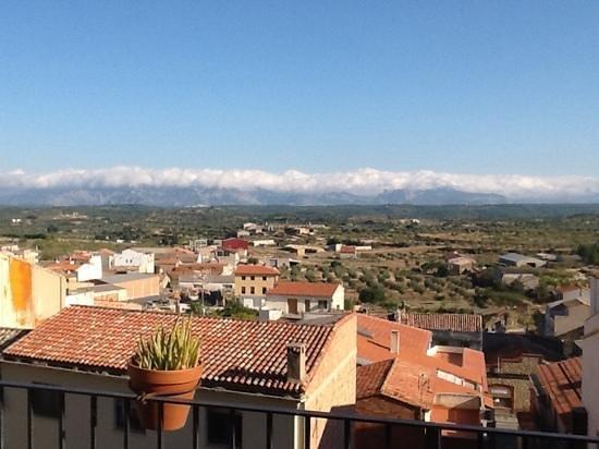 Hotel Del Sitjar: vista desde la terraza de la habitación
