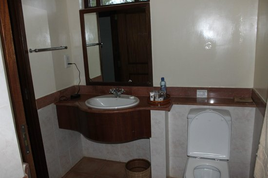 Lake Naivasha Simba Lodge: bagno