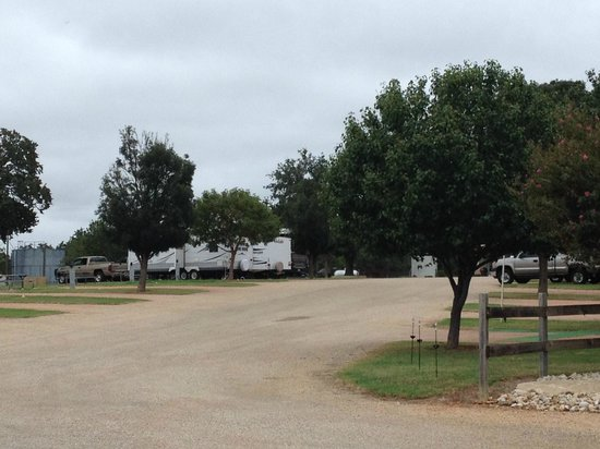Peach Country RV Park: Pull-Through RV Parking