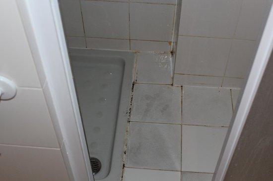 Hotel Grifone Firenze: shower