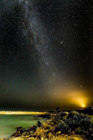 Zorbas Beach Village Hotel: traumhafter Sternenhimmel geshen vom Hotel aus