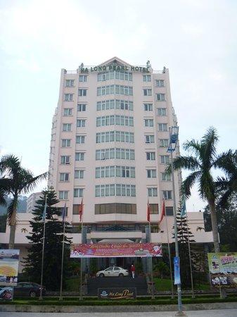 Halong Pearl Hotel : 外観(朝)