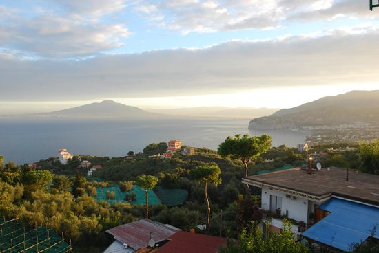 Il Nido Hotel Sorrento : Vista al mar  desde la Habitacion