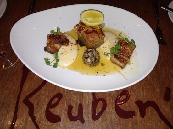 Reuben's: pork belly