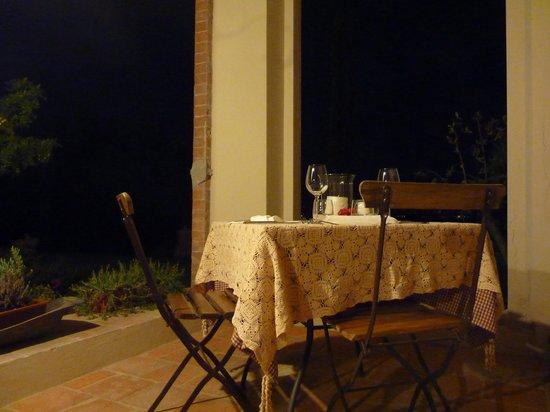 Ca Alfieri al 30 B&B Camere di Charme: Cena nel patio di Cà Alfieri al 30