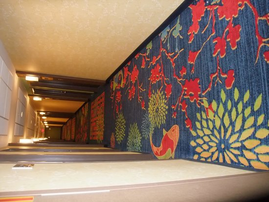 Fairfield Inn & Suites by Marriott Washington, DC/Downtown : couloir decoré