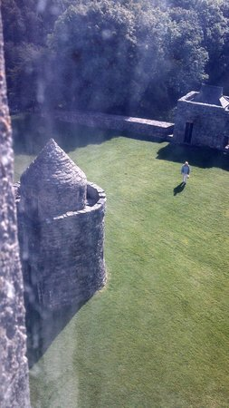 Aughnanure Castle: View from castle window