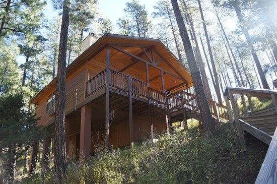 Ruidoso Lodge Cabins: the cabin