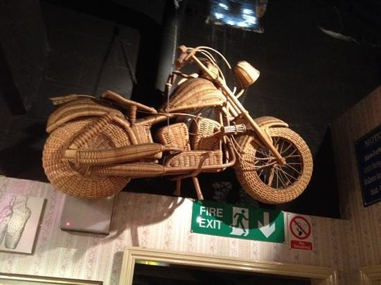 Ripley's Believe It Or Not! Blackpool: Steve McQueen made this while filming the great escape