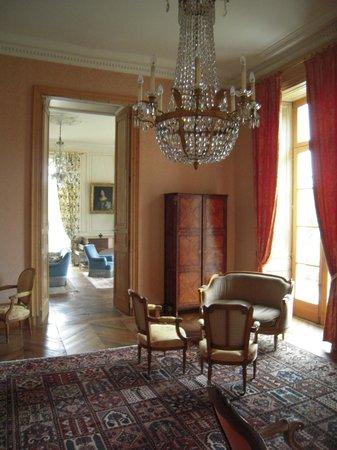Château de Locguénolé : petits salons en enfilade